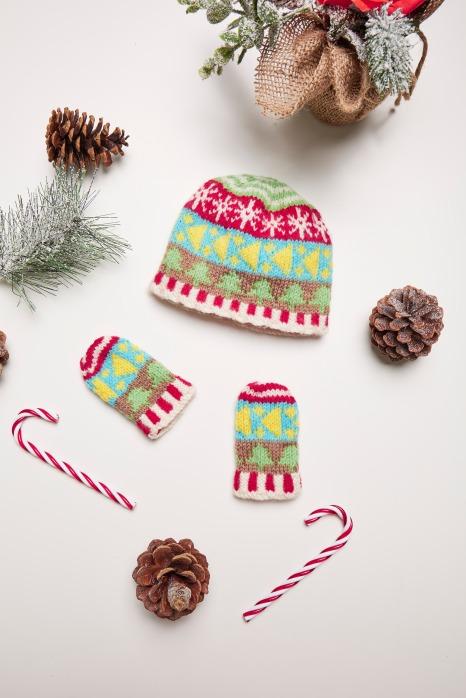 Baby Hat & Mitts set