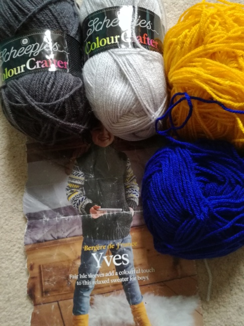 I Don't Have That Much Yarn, Honest – Torya Winters Designs